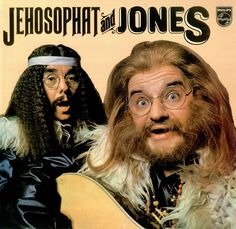 The Two Ronnies Jehosophat And Jones - UK Vinyl LP Record 6308190 Jehosophat And Jones - The Two Ronnies 6308190 Philips 451406 British Tv Comedies, British Comedy, The Two Ronnies, Ronnie Barker, Worst Album Covers, Goth Music, Bad Album, Bad Art, Vinyl Cover