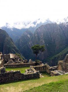 Machu Picchu - construções incas