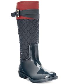 Tommy Hilfiger Girls' or Little Girls' Jessie Rain Boots