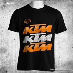 Fox Clothing KTM Shadow Black T-Shirt FREE SHIPPING