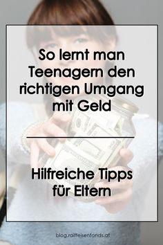 Konkrete Tipps für Eltern, um den Teenagern den richtigen Umgang mit Geld beizubringen. #taschengeld #jugendliche #teenager #selbstständig #erwachsenwerden #pubertät #eltern #familie #kinder #kind #großwerden #eigenesgeld #ansparen #finanzen #geld #sparen #anlegen #fonds #investieren Teenager, Tricks, Money, Motivation, Ideas, Organization, Money Plant, Money Saving Hacks, Investing
