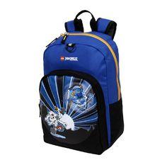 Boys Blue LEGO City Ninjago Lightning Backpack Fast Jay Ninja Warrior Themed