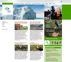 Neue Internetpräsenz für die Heinz Sielmann Stiftung www.sielmann-stiftung.de