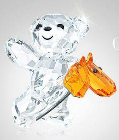 Swarovski Crystal Bear.