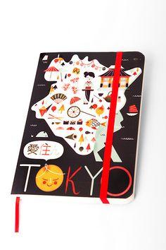 Cuaderno de viaje Tokyo