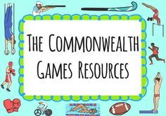 PE & Sports The Commonwealth Games Primary Resources - PE and Sports Primary Resources, Game Resources, Rio Olympics 2016, Winter Olympics, Commonwealth Games 2018, Math Stem, Holiday Club, Rugby World Cup, Play Based Learning