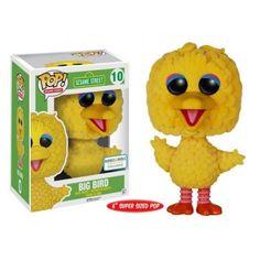 Funko Big Bird, Barnes & Noble Exclusive, Sesame Street, Vila Sésamo, Cartoon, Funkomania