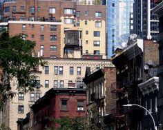 Buildings in Murray Hill, Manhattan.