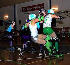 roller derby action - Google Search