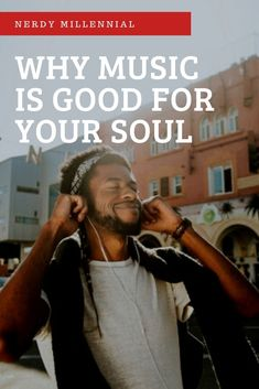 Why Music is Good for Your Soul - Nerdy Millennial Self Care Worksheets, Self Care Activities, Mental Health Resources, Health Articles, What Is Self, Self Love, Holistic Wellness, Health And Wellness, Add Music
