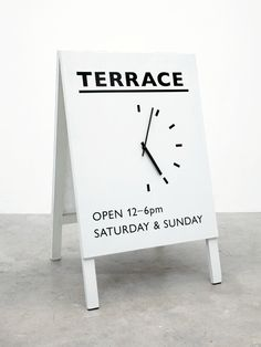 Terrace-Sandwich-Board or any other type of business...very creative..My gallery needs a sidewalk sign...this is it..