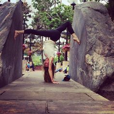 15 Poses From Yogis On the Go | Handstand Split | FATHOM