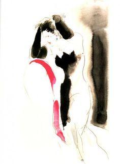 Antonio Lopez Illustration Paloma Picasso