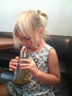 Even our Rawfully Organic Co-op kids love juice recipes! Cutest pic of one of our little mascots...