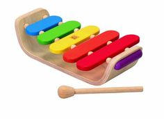 Amazon.com : Plan Toy Oval Xylophone : Baby Musical Toys : Toys & Games