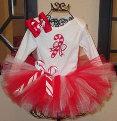 Christmas tutu set .. are you seeing a trend? haha
