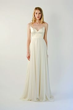 Find Beulah Wedding Dress by Leanne Marshall Available in 1 boutiques in Canada: Frocks Modern Brides & Bridesmaids (Vancouver), . Corsage, Bridal Gowns, Wedding Gowns, Tulle Wedding, Wedding Outfits, Wedding Attire, Wedding Bells, Bridal 2015, Leanne Marshall