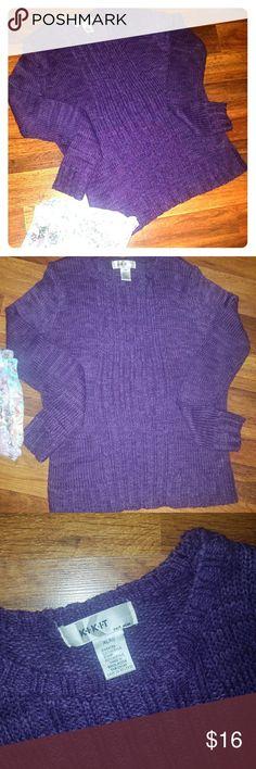Sweater Purple Sweaters