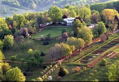 Monticello, Virginia, home of Thomas Jefferson