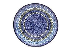 Polish Pottery Plate  10 Dinner  Antique Rose <3 View the beautiful pottery in details by clicking the VISIT button