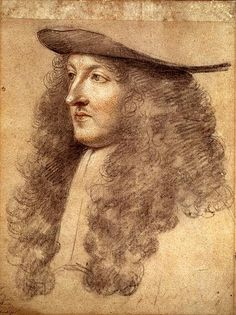 1663.......LOUIS XIV.......PEINTURE DE CHARLES LE BRUN........SOURCE UNO SOLE MINOR.TUMBLR.COM............