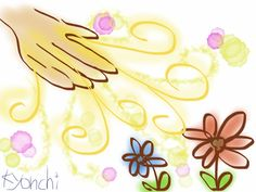 神様は道端の小さな花でさえもケアしてるのだから、私たちもなおさら、ケアしてくれてるよね!
