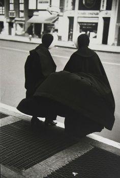 """""""Il vento"""" 1953, Saul Leiter"""