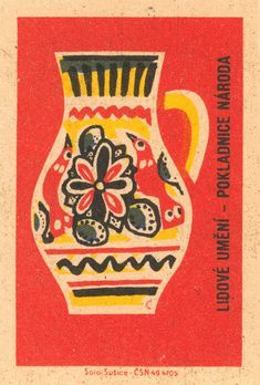 czechoslovakian #matchbox label | by maraid To design & order your business' own logo #matches GoTo GetMatches.com