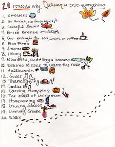 20 Reasons why Autumn is Everything
