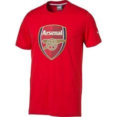 d234e3a33 PUMA Men s Arsenal 15 16 Red Crest T-Shirt