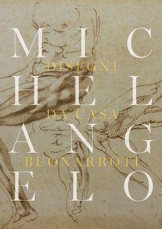 Michelangelo. Disegni da Casa Buonarroti. Pinacoteca Agnelli exhibition 2019 ADV card. #MichelangeloaTorino