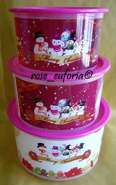 tupperware pictures of products | rose_euforia My Tupperware Collection: Tupperware Frosty Trio ...