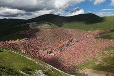 Image result for LARUNG GAR BUDDHIST ACADEMY