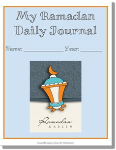 My Ramadan Journal For Kids only on muslimommy.com!