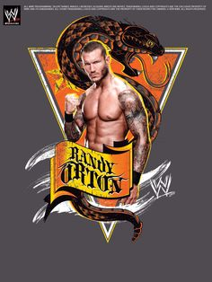 WWE Magazine Randy Orton Poster, ©WWE. All rights reserved
