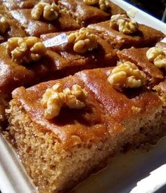 Greek Sweets, Greek Desserts, Greek Recipes, Greek Cake, Fruit Pie, Macaron Recipe, Canning Recipes, Macarons, Chocolate Cake