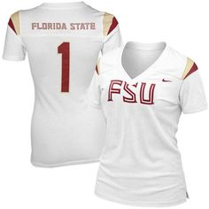 Florida State Seminoles White Football jersey - my awesome boyfriend just got me one for gameday!