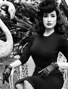 Dita Von Teese is the modern day Bettie Page, queen of Pin Up Culture and Burlesque scene. She has awaken peoples' interest in this subculture and has catapulted her career to the forefront of the world.