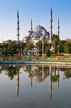 Blue Mosque, Istanbul, Turkey #bluemosque    What would you do with  http://www.ExtraMoneyUSA.com