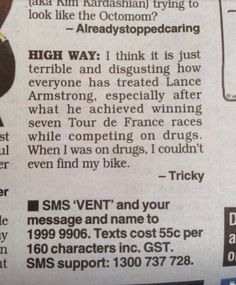 Funny Pictures of the day - Lance Armstrong did not deserve the hate! (103 Pics)
