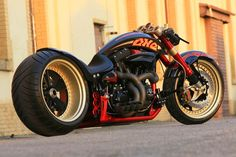 "Harley Davidson ""The ONE"" customized by Fat Attack AG"