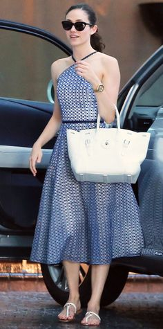 Look of the Day - July 19, 2015 - Exclusive... Emmy Rossum Stops By The Chateau Marmont from #InStyle