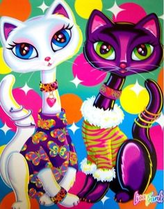 Lisa Frank is good fun for smash books and everything else