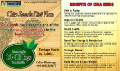 Weightshake Factory presents its Organic Chia Seeds Diet Plan. As we all know, Chia Seeds have become one of the most popular superfoods in the health community and benefits of Chia Seeds is enormous like Overall body fat loss, healthy skin, boosting metabolism and many mores. You can lose upto 10-12 kg in a month which varies from person to person body weight‍‍.