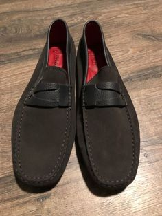 1cc934d0f70dc TOD S Tods Ferrari New US Size 8 Mens Drivers Loafers Shoes black  fashion   clothing