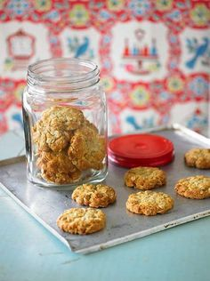 Golden delicious ... Merle Parrish's Anzac biscuits.
