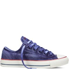 5ba2ed9238fb Chuck Taylor All Star Washed Canvas periwinkle Converse All Star