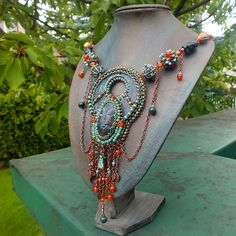 """""""Myth teller"""" necklace by gianelle"""
