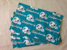 """Miami """"Dolphins"""" Placemats by SportzNutty on Etsy"""