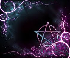 Gorgeous Pentagram graphic Pagan wiccan witchy :)